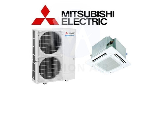 Mitsubishi Electric Starmex Mr Slim Single Split Inverter System Ceiling Cassette - PUY-P125VKA / PLY-P125EA (38000 BTU) √√√