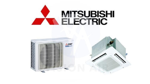 Mitsubishi Electric Starmex Mr Slim Single Split Inverter System Ceiling Cassette - SUY-ZP50VA / PLY-ZP50EA (16000 BTU) √√√√√