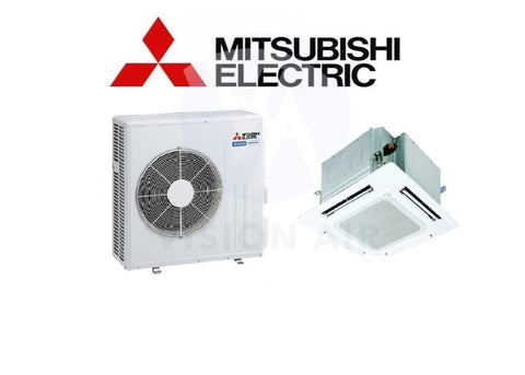 Mitsubishi Electric Starmex Mr Slim Single Split Inverter System Ceiling Cassette - SUY-KA80VA / PLY-P80EA (24000 BTU) √√√√