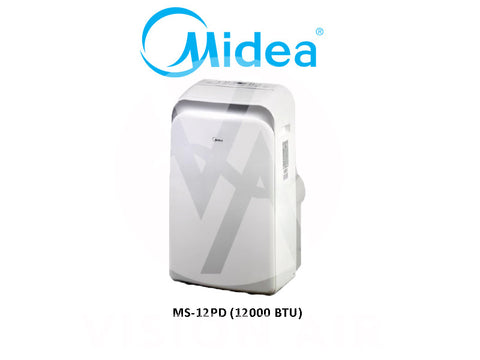 Midea Portable Aircon MS-12PD (12000 BTU/Hr)
