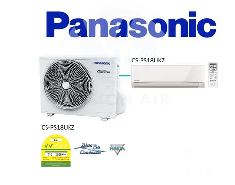 Panasonic Single Split Inverter CU-PS18UKZ/CS-PS18UKZ (18000 BTU) √√