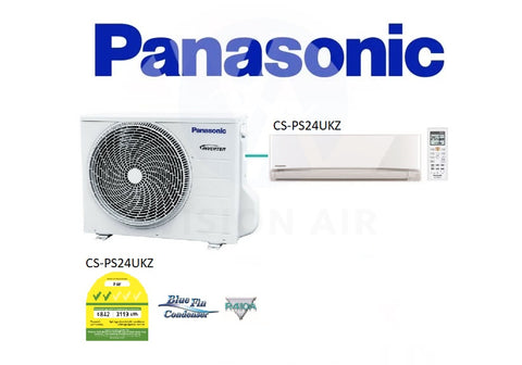 Panasonic Single Split Inverter CU-PS24UKZ/CS-PS24UKZ (24000 BTU) √√
