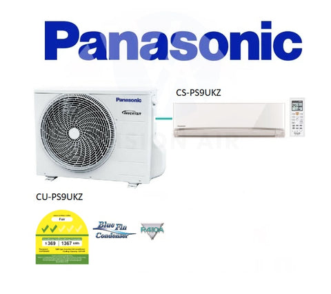 Panasonic Single Split Inverter CU-PS9UKZ/CS-PS9UKZ (9000 BTU) √√