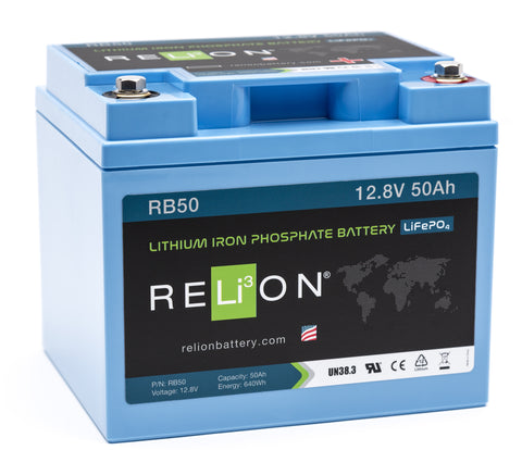 12V 50Ah RELiON Lithium Battery
