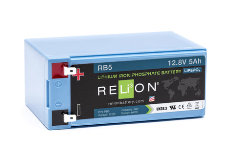 12v 5Ah Lithium-ion Battery