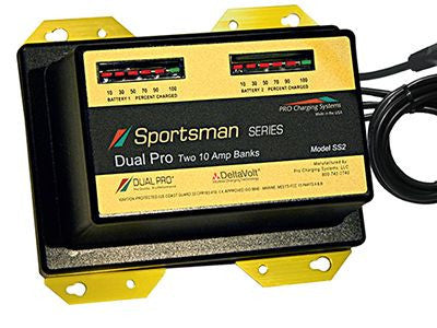 Pro Charging Sportsman Series PCSS2  2 @10 amp banks * 20 amp 12/ 24V charger