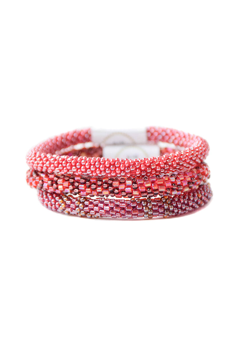 Cranberry Roll On Bracelets