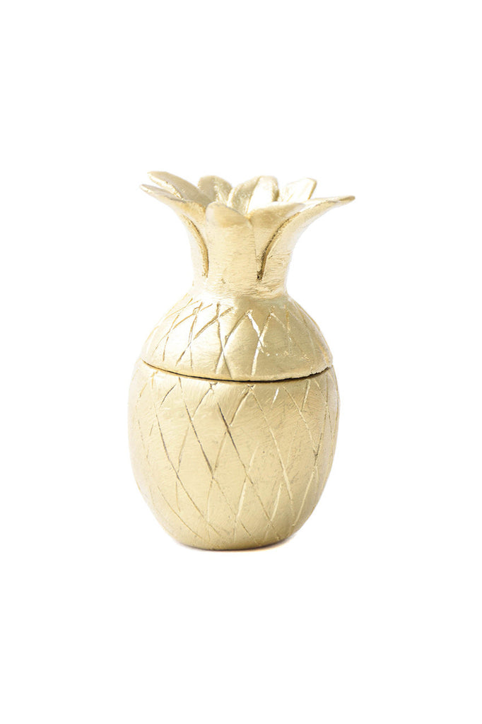 Recycled Brass Pineapple