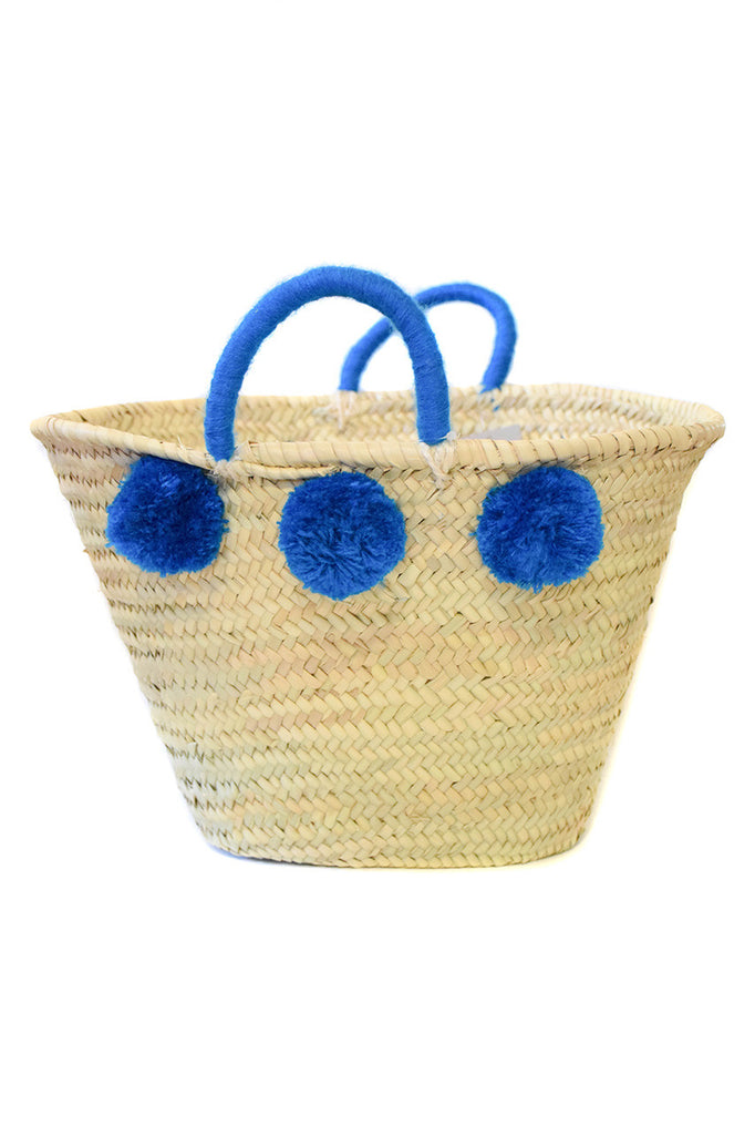 ethical handmade straw market baskets