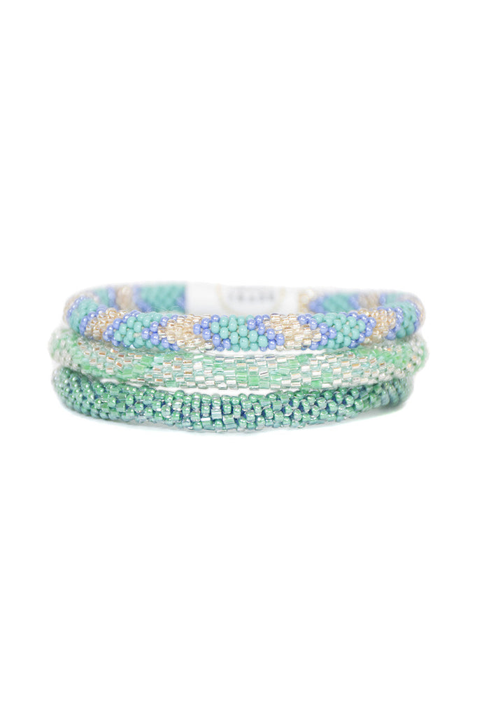 Tropical Ocean Roll On Bracelets