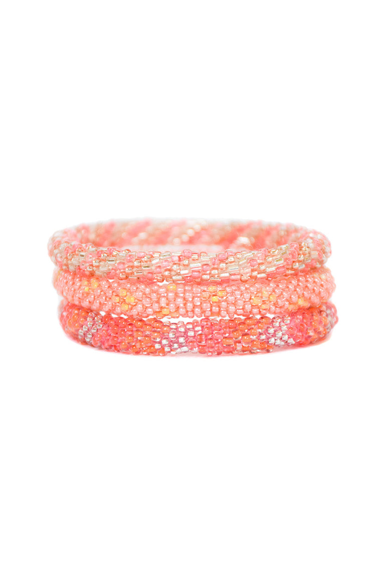 Tropical Sunset Roll On Bracelets
