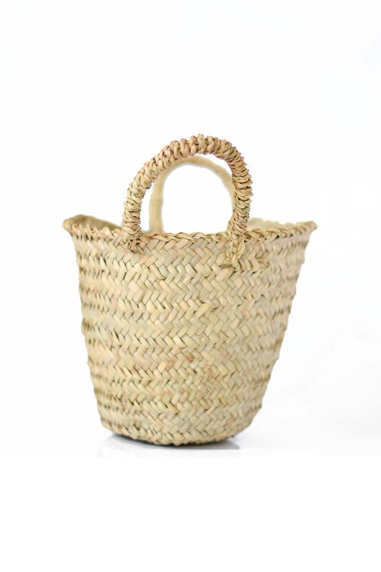 Mini Straw Basket