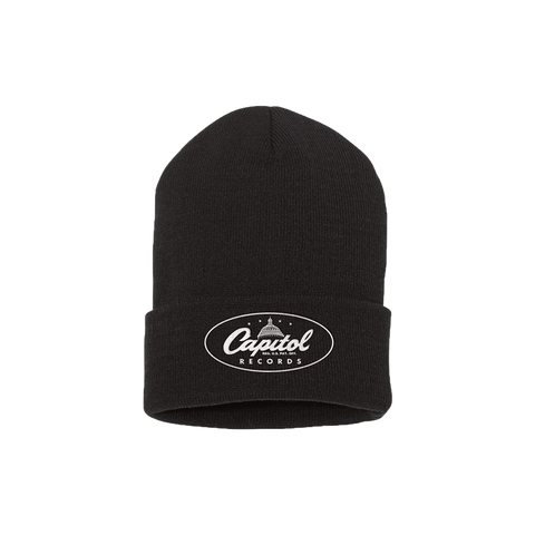 Capitol Records Embroidered Beanie