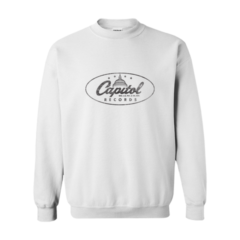 Vintage Capitol Records White Crewneck