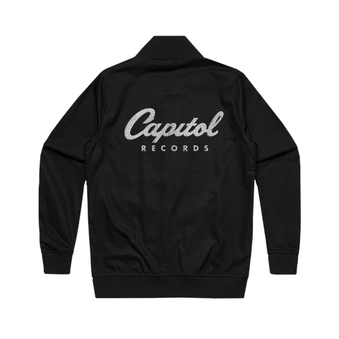Capitol Records Stitched Logo Bomber Jacket