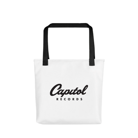 Capitol Records Tower Logo Tote Bag