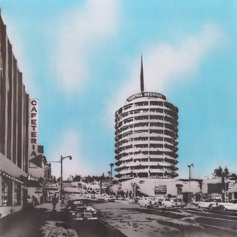 Capitol Records Tower Limited Edition Nick Walker Print
