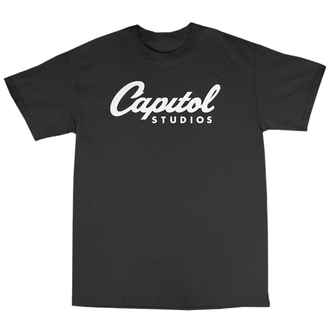 Capitol Studios T-Shirt Black/White