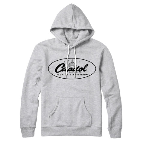 Capitol Studios Classic Logo Sweatshirt Heather Grey