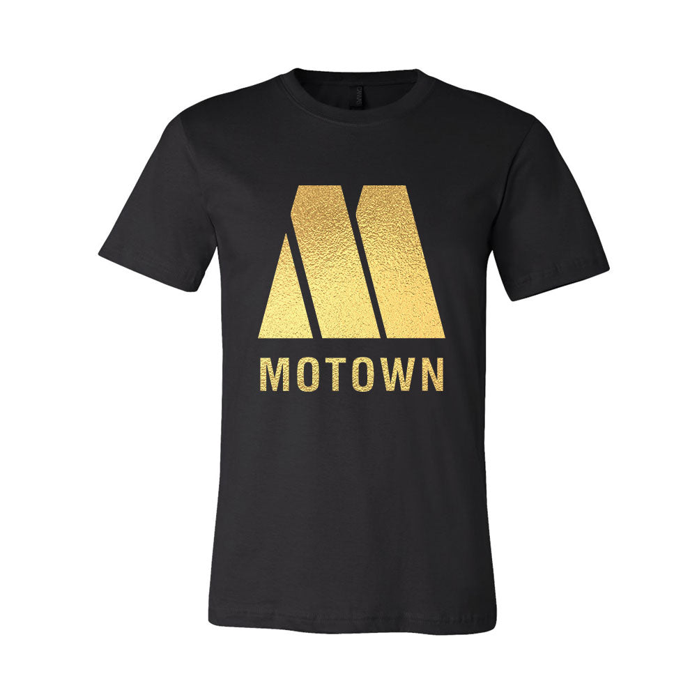 648f62bd1ed483 Home / Motown Gold Foil T-Shirt. Double tap to zoom