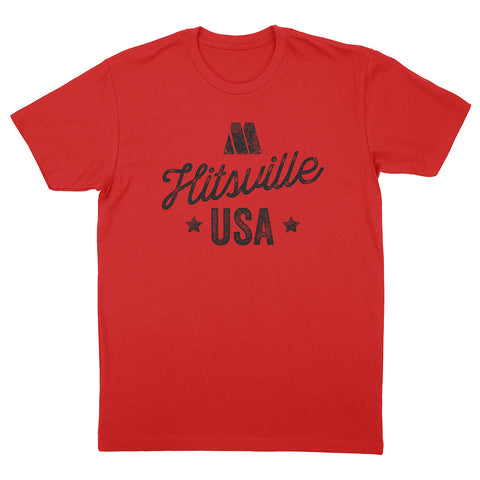 Red Hitsville USA Tee