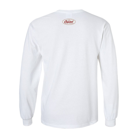 Capitol Studios Quiet Recording Long Sleeve T-Shirt White