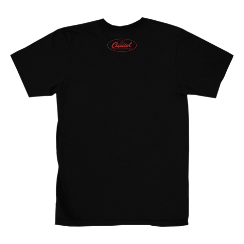 Capitol Studios Quiet Recording T-Shirt Black
