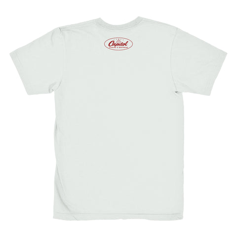 Capitol Studios Quiet Recording T-Shirt White