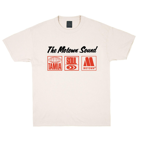 The Motown Sound Natural T-Shirt