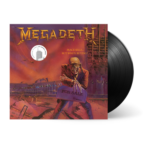 "Megadeth ""Peace Sells"" LP"