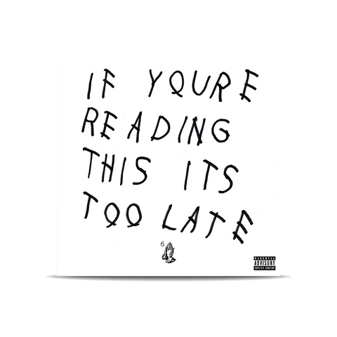 If You're Reading This It's Too Late 2LP