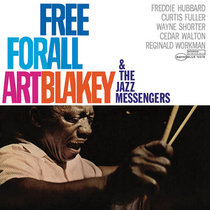 Art Blakey - Free For All Framed Canvas Wall Art