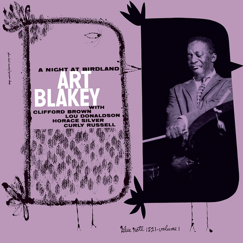 Art Blakey Quintet - A Night At Birdland Vol 1 Vinyl