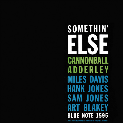 Cannonball Adderley - Somethin Else Vinyl