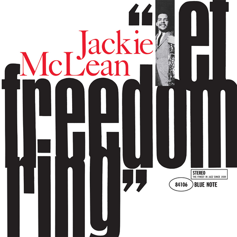 Jackie McLean - Let Freedom Ring Vinyl