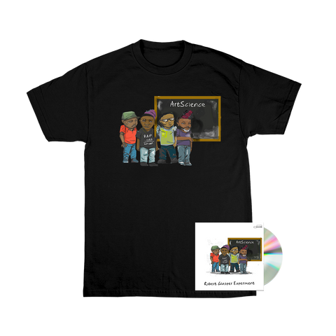 Robert Glasper Experiment CD + Black T-Shirt
