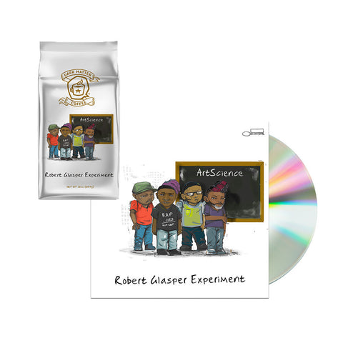 Robert Glasper Experiment CD + Coffee