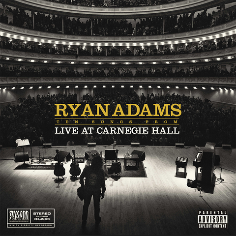 Ryan Adams - 10 Songs From Live At Carnegie Hall