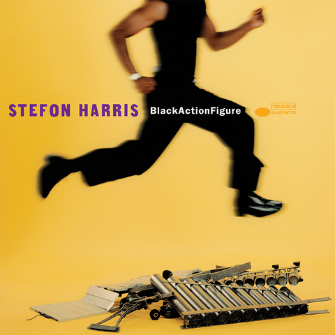 Stefon Harris - Black Action Figure LP