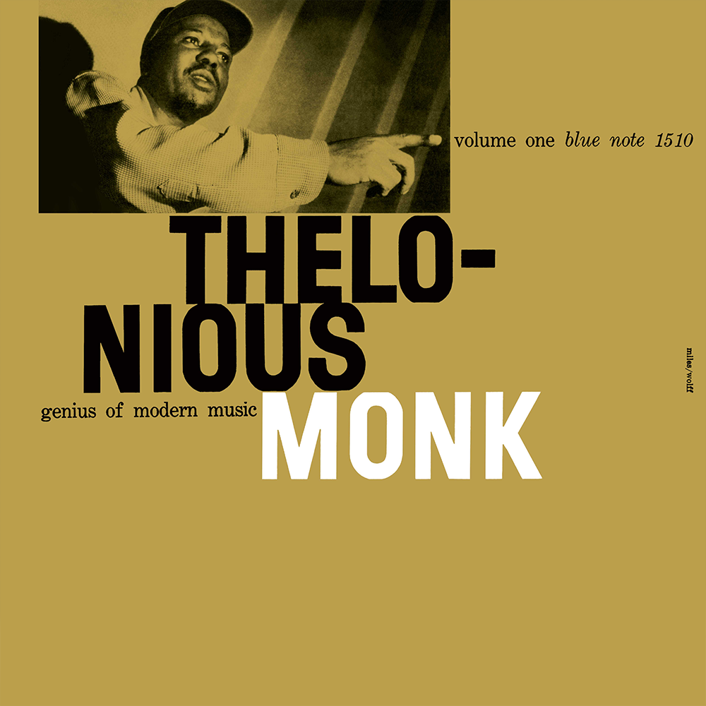 Thelonious Monk - Genius Of Modern Music: VOL 1 Vinyl