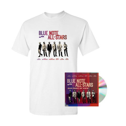 Blue Note All Stars - Our Point Of View + T-Shirt Bundle