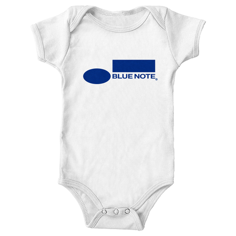 Blue Note Baby Onesie WHITE