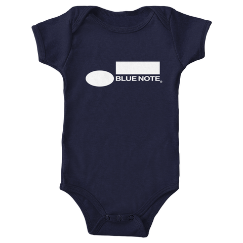 Blue Note Baby Onesie NAVY
