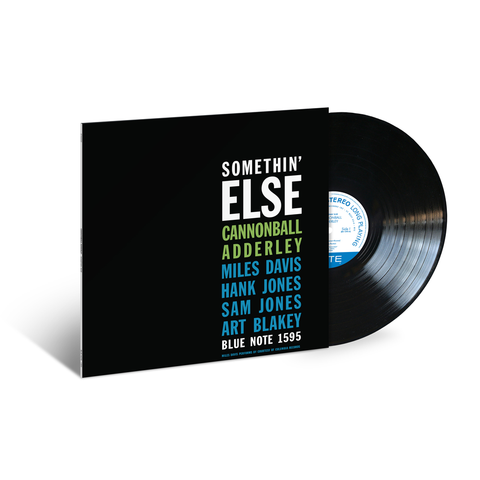 Cannonball Adderley - Somethin' Else LP (Blue Note Classic Vinyl Edition)