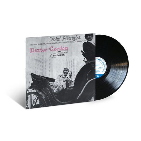 Dexter Gordon - Doin' Allright LP (Blue Note 80 Vinyl Edition)