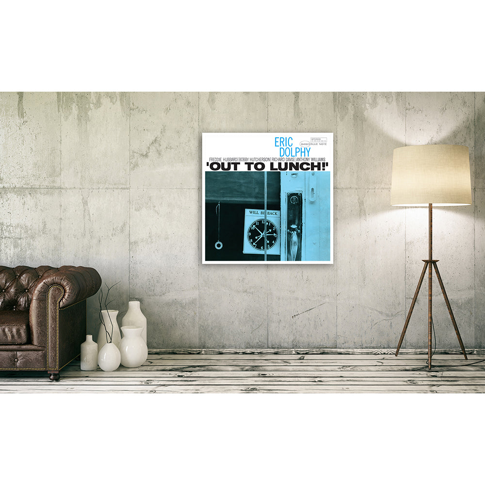 Eric Dolphy - Out To Lunch Framed Canvas Wall Art