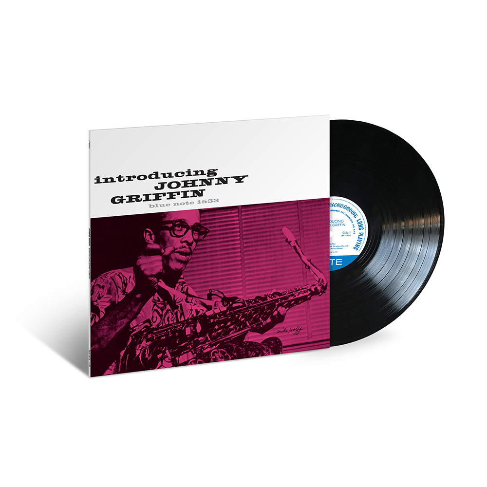 Johnny Griffin - Introducing Johnny Griffin LP (Blue Note 80 Vinyl Edition)