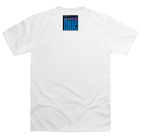 Kenny Burrell - Midnight Blue - 84123 (Serial Logo Series T- Shirt)