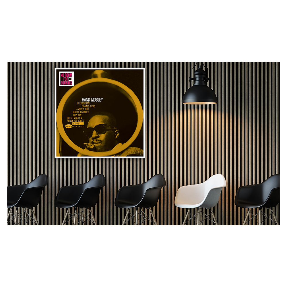 Hank Mobley - No Room For Squares Framed Canvas Wall Art
