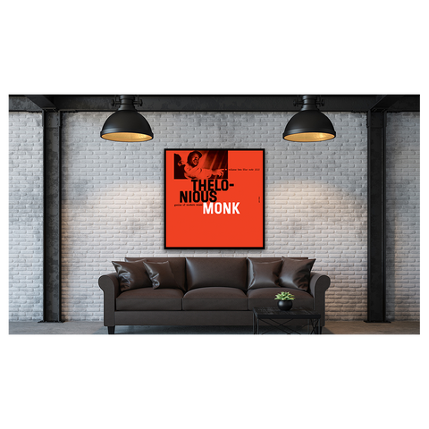Thelonius Monk - Genius of Modern Music Vol. 2 Framed Canvas Wall Art